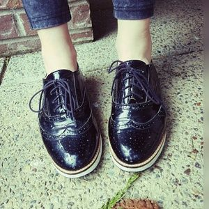 Killer, SHOEMINT, lace up oxfords!!